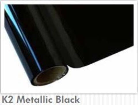 Фольга HOT STAMPING FOIL для горячего тиснения Metallic Black. Рулон 30 см х 12 м.