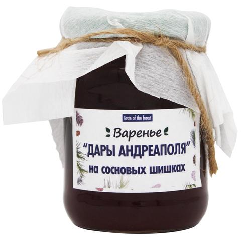 Варенье из сосновых шишек, Дары Андреаполя, 300 г