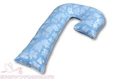 АльВиТек. Подушка для беременных J, холфит-шарики