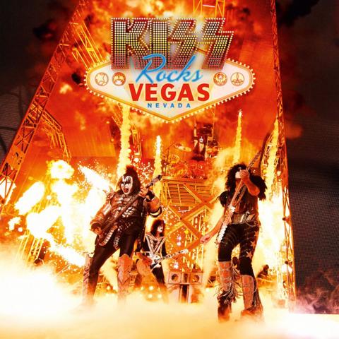Kiss / Rocks Vegas (2LP+DVD)