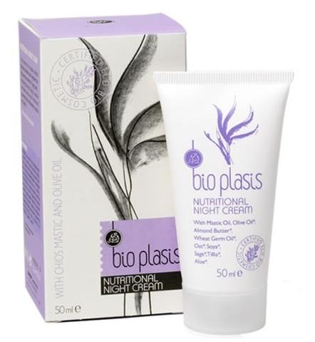 Питательный ночной крем с мастикой Bio Plasis 50 мл