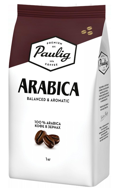 Кофе в зернах Paulig Arabica 1000 г