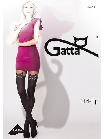 Колготки Girl Up Cat Gatta