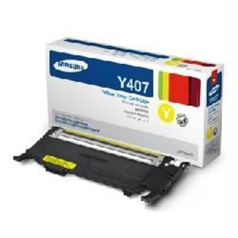 Картридж желтый  Samsung CLT-Y407S для Samsung CLP-320, CLP-320n, CLP-325, CLX-3185, CLX-3185N, CLX-3185FN (Ресурс 1000 стр.)