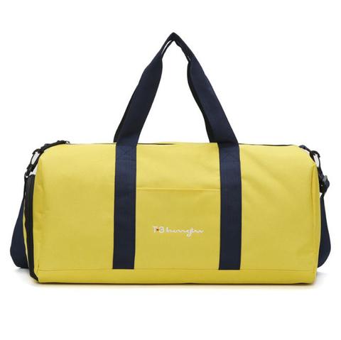 Спортивная сумка Fitness2u-T-3L - желтая