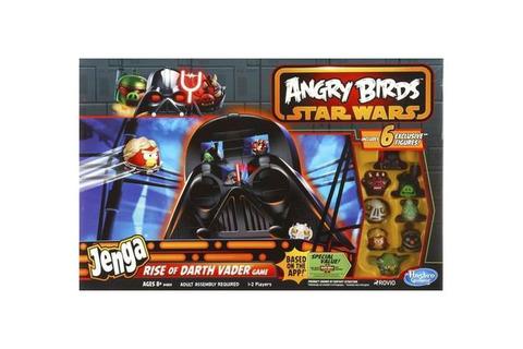 Jenga Angry Birds Star Wars: Darth Vader game \ Сердитые птицы Звездные войны: Дарт Вейдер