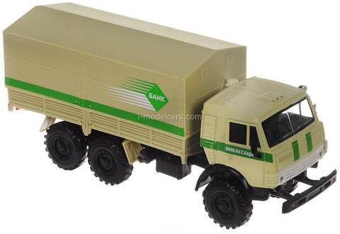 KAMAZ-4310 Encashment 1:43 Technopark