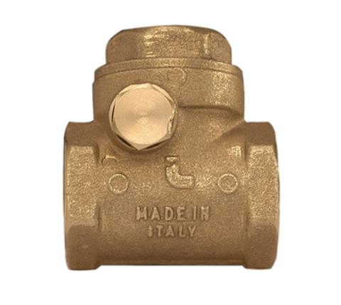 Клапан обратный горизонтальный муфтовый Itap 130 1 1/2