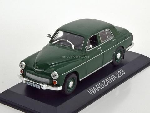 Warszawa 223 dark green 1:43 DeAgostini Masini de legenda #25