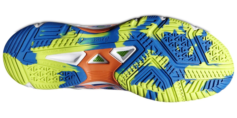 Мужские кроссовки для волейбола Asics Gel-Beyond 4 (B404N 4230) синие