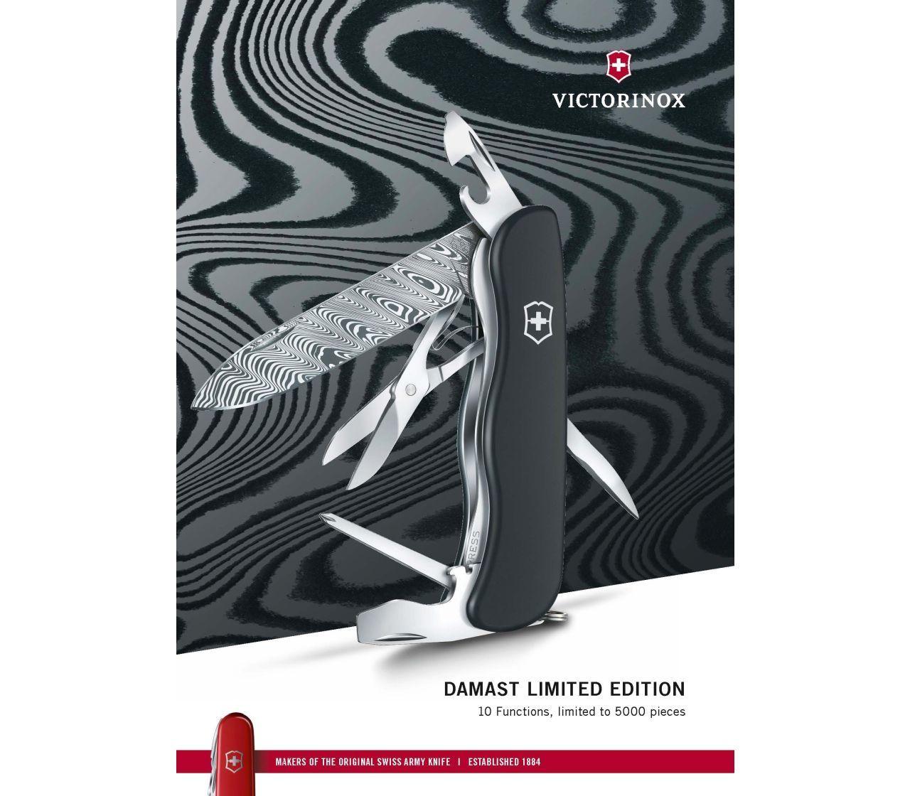 Outrider Damast Limited Edition 2017 Victorinox (0.8501.J17)