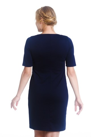 Платье 07983 синий