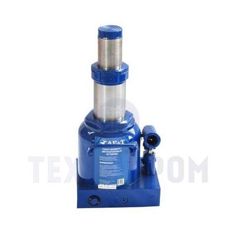 Домкрат бутылочный двухштоковый T02032 AE&T 32т