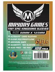 Протекторы для настольных игр Mayday Tiny Epic Kingdoms (88x125) - 100 штук