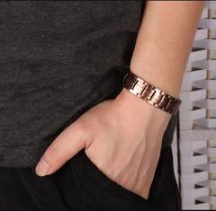Мужской Медный магнитный браслет