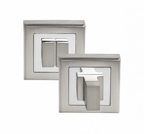 Фурнитура - Завёртка Сантехническая квадратная Palidore OLS, цвет белый никель