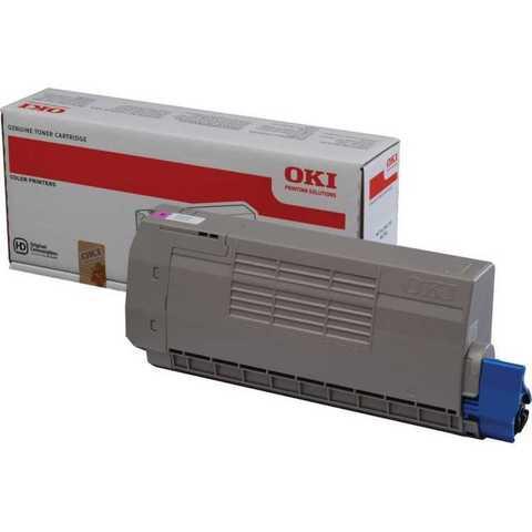 Тонер-картридж OKI для MC760, MC770, MC780 Magenta. Ресурс 6000 стр. (45396302)
