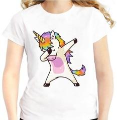 Единорог стесняшка футболка