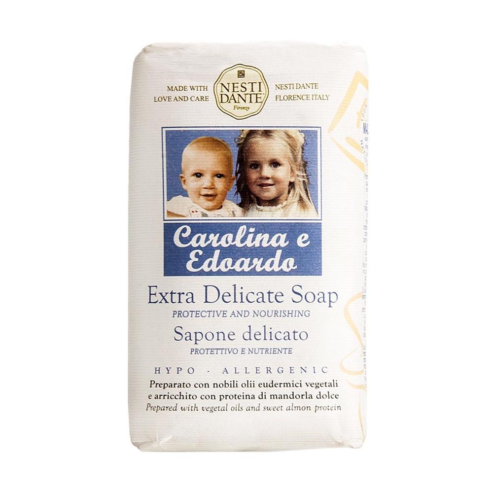 DELICATE Extra delicate Carolina and Edoardo / Деликатное Каролина и Эдуардо детское мыло 250 гр