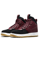 Nike Lunar Force 1 Duckboot Winter - Black / Red