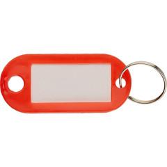 Бирки для ключей 10 шт/уп, красная
