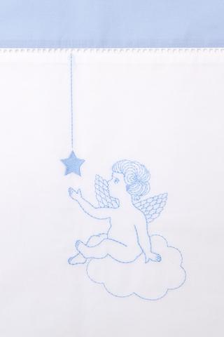 Чехол для бампера 390x45 Luxberry Angels голубой