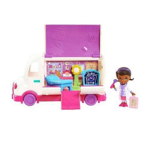 Игровой Набор Доктор Плюшева с машиной скорой помощи и аксессуарами - Doc McStuffins Mobile Clinic Toy, Mattel