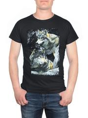 17612-2 футболка мужская, черная