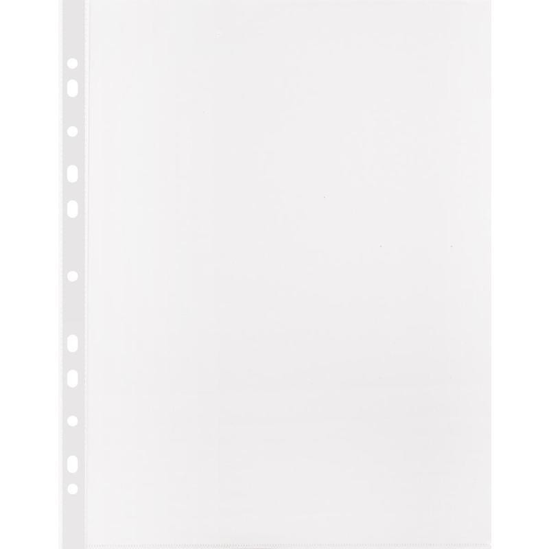 Файл-вкладыш А4 Attache, Стандарт,30мкм с перф,100 шт., рифлен.пов.