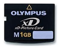 Карта памяти XD-1Gb Olympus xD-Picture Card M-XD1GP