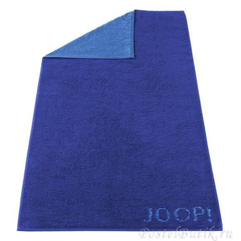 Полотенце 80х150 Cawo-JOOP! Classic Doubleface 1600 синее