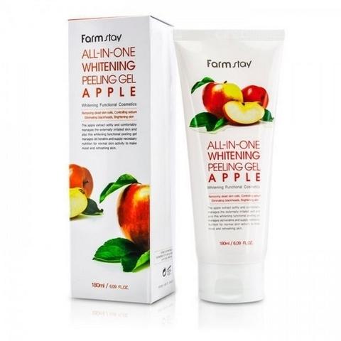 FarmStay Пилинг гель Яблоко All-In-One Whitening Peeling Gel Apple, 180 мл