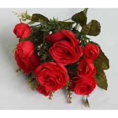 Букет роз,  7 веток, 32 см.