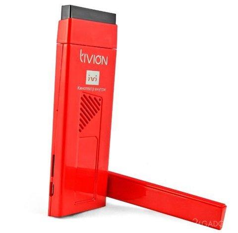 Смарт ТВ приставка TiviOn D4100