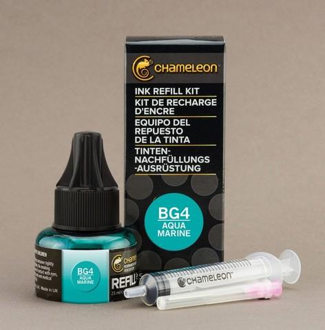 Чернила для маркеров Chameleon аквамарин BG4, 25 мл
