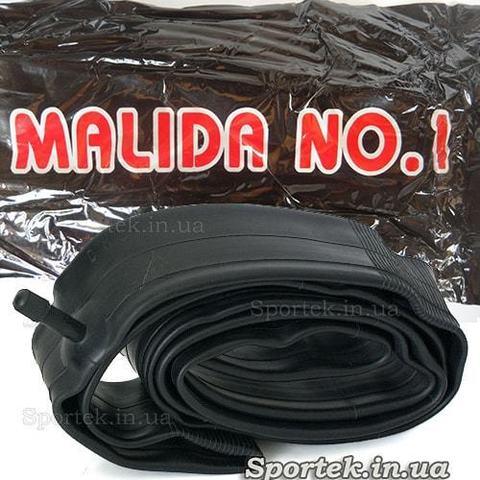 Велокамера Malida упаковка и вид