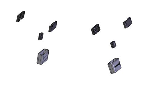 beyerdynamic slider repair assy, набор слайдеров для T70/T90 (#909793)