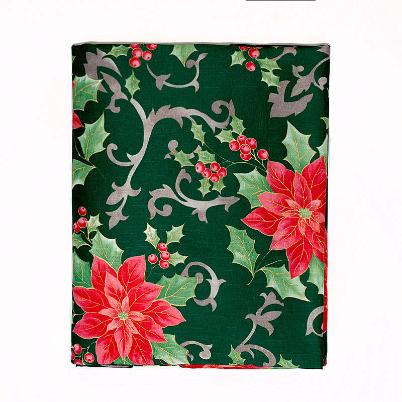 Кухня Скатерть 152х213 Carnation Home Fashions Christmas Fabric Tablecloths Poinsettia Floral skatert-152h213-carnation-christmas-fabric-tablecloths-poinsettia-ssha-kitay.jpg