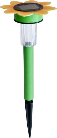 Светильник садово-парковый на солнечной батарее, 1 белый LED, PL240 (Feron)