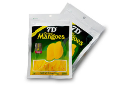 Сушеные манго 7D, 100г