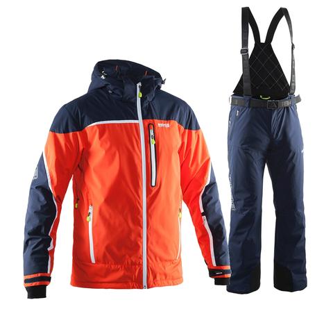Мужской горнолыжный костюм 8848 Altitude Iron/Guard