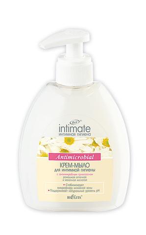Крем-мыло для интимной гигиены Antimicrobial