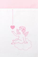 Чехол для бампера 390x45 Luxberry Angels розовый