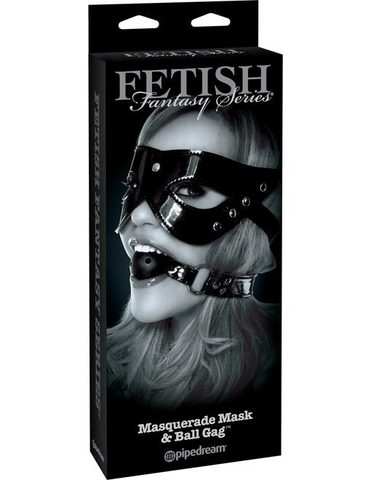 БДСМ Набор из маски и кляпа Masquerade Mask &amp Ball Gag