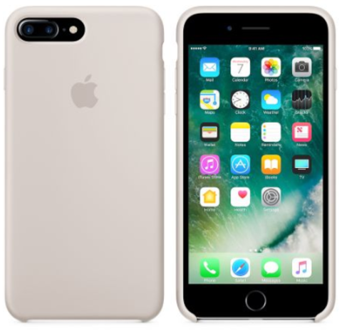iPhone 7Plus/8Plus Silicone Case Светло Серый