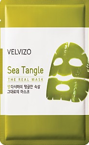 Velvizo Sea Tangle The Real Mask гидрогелевая маска для лица