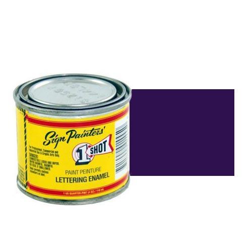 161-L Эмаль для пинстрайпинга 1 Shot Пурпурно-фиолетовый (Proper Purple), 118 мл