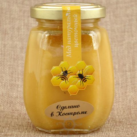 Мед цветочный Царь Берендей, 220г