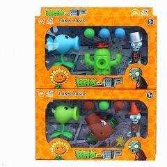 Растения против Зомби игрушки стрелялки Поврежденные