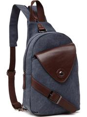 Однолямочный рюкзак RRX A023 Синий